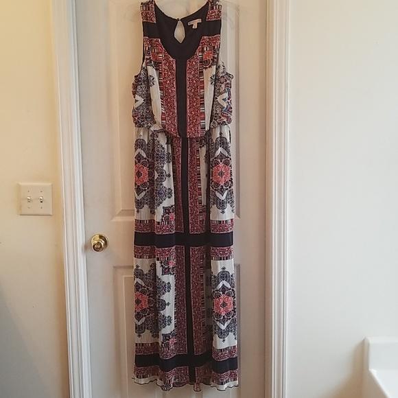 Dress Barn Dresses & Skirts - Multicolored maxi dress
